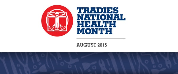 Tradies National Health Month